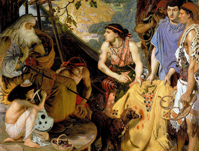 "Ford Madox Brown, ""The Coat of Many Colours"", c. 1865"