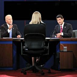 Vice President Joe Biden debates Rep. Paul Ryan, R-Wis., Oct. 11 in Danville, Ky.
