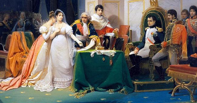 "Henri-Frédéric Schopin (1804-1880), ""The Divorce of the Empress Josephine"""