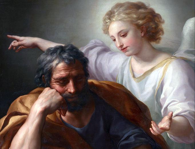 "Anton Raphael Mengs (1728–1779), ""The Dream of St. Joseph"""