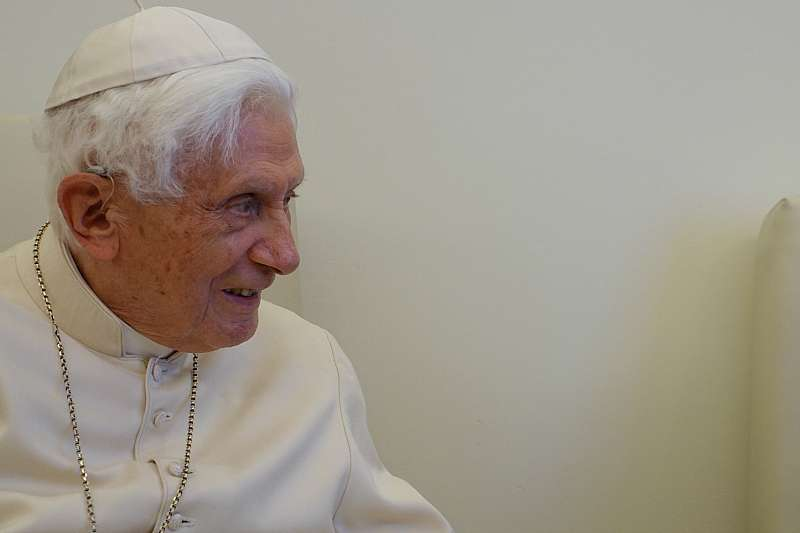 Pope Emeritus Benedict XVI in 2017.