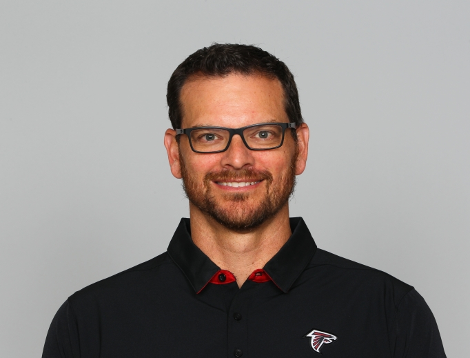 Eric Sutulovich is pictured as part of the June 2017 roster of the Atlanta Falcons NFL football team.
