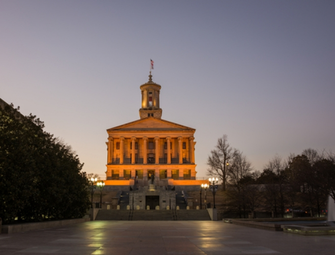 State Capitol of Tennessee.