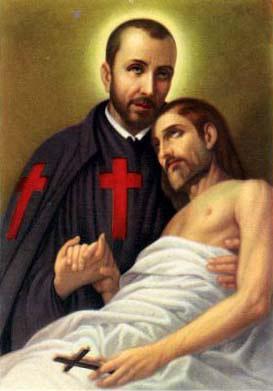St. Camillus de Lellis is a patron of the sick.