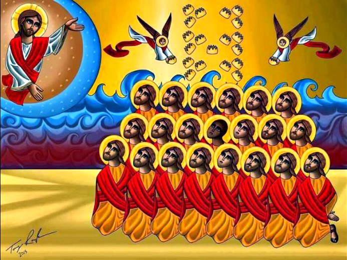Icon of the '21 Martyrs of Libya'