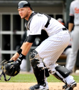 Chicago White Sox catcher Tyler Flowers