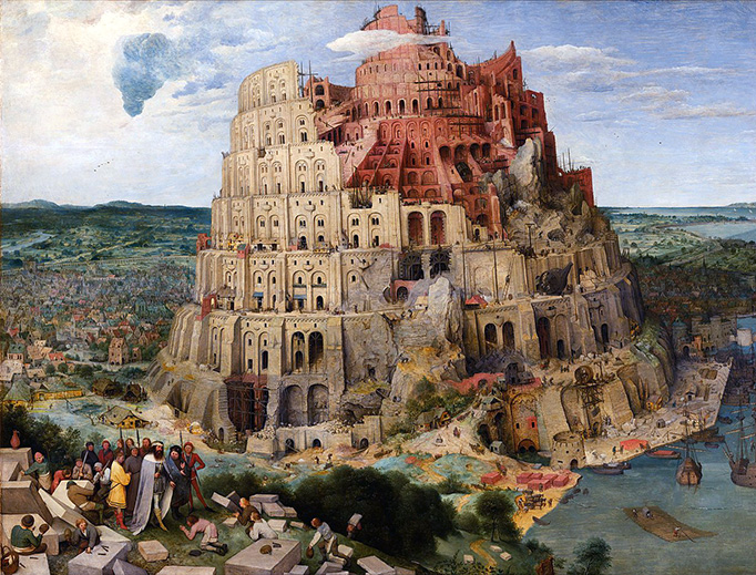"Pieter Brueghel the Elder, ""The Tower of Babel,"" 1563"
