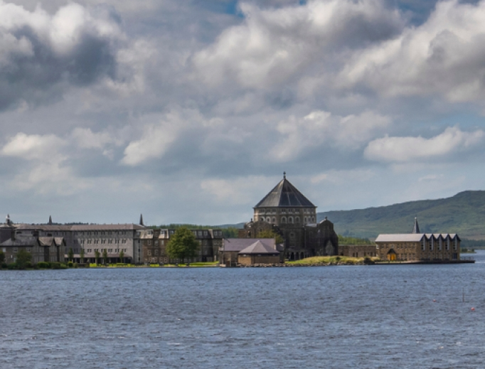 The Lough Derg Monastery and St. Patrick's Basilica in Donegal, Ireland, are important places of pilgrimage to the Irish. The annual summer pilgrimage was canceled this year due to the COVID-19 pandemic.