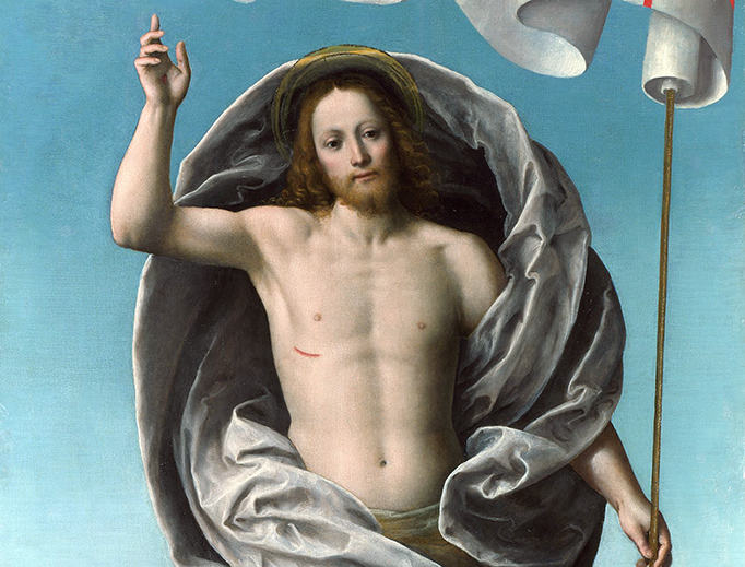 "Gaudenzio Ferrari (1475-1546), ""Christ Rising From the Tomb"""