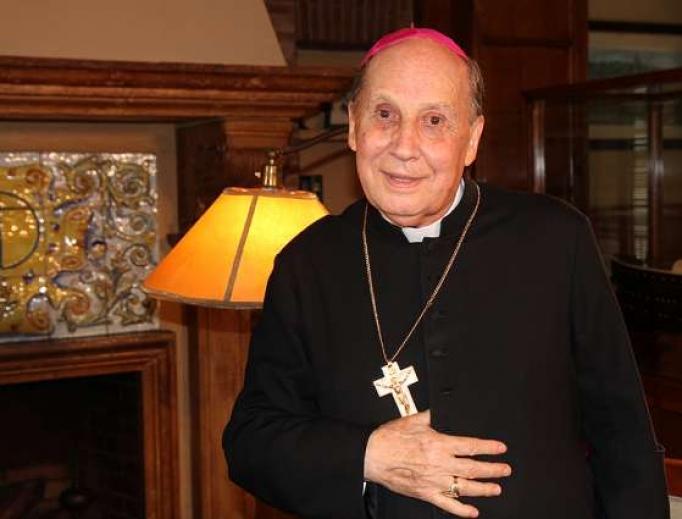 Bishop Javier Echevarría Rodríguez, prelate of Opus Dei, who died Dec. 12.