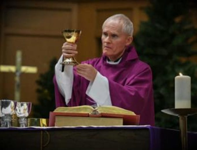 Bishop Mark Brennan.