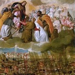 Battle of Lepanto painting