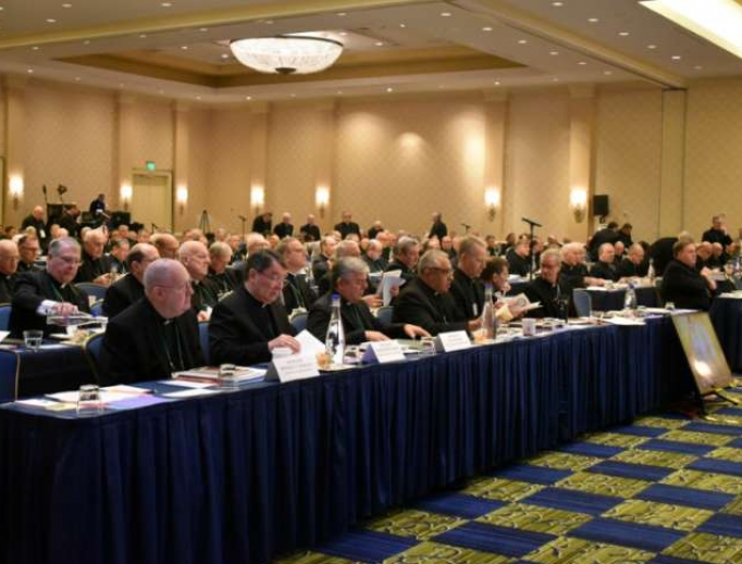 The USCCB autumn meeting is underway in Baltimore Nov. 11.