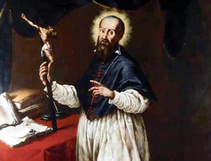 """Giovanni Battista Lucini, """"St. Francis de Sales,"""" 1665"""