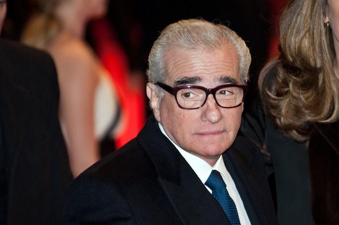 Film director Martin Scorsese.