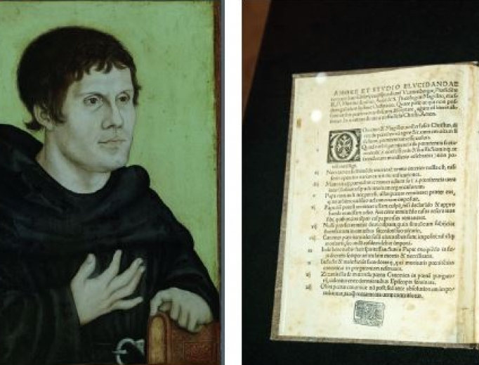 Martin Luther and his '95 Theses'