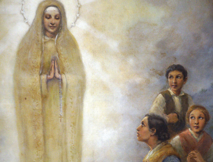Art reflects the Marian visions 100 years later.