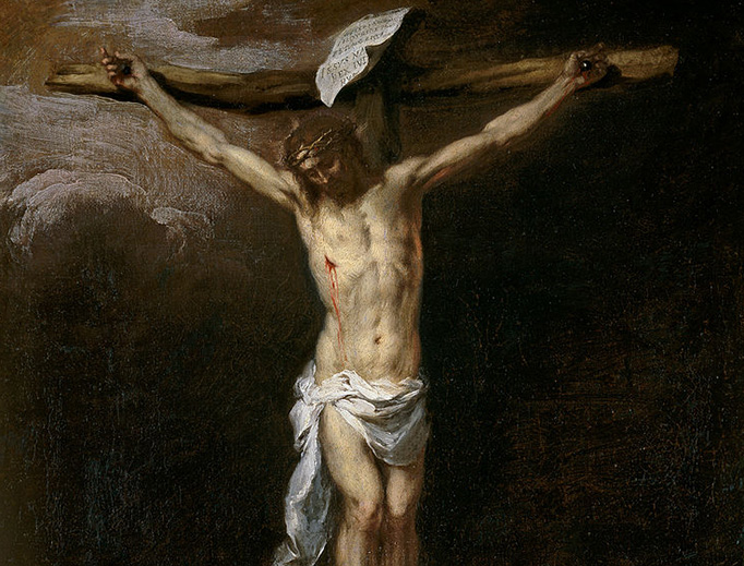 "Bartolomé Esteban Murillo, ""Christ Crucified"", c. 1677"
