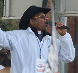 New York state Sen. Ruben Diaz Sr. speaks March 26 at the March for Marriage in Washington.