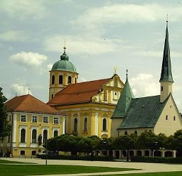 Marian shrine of Altötting in Germany