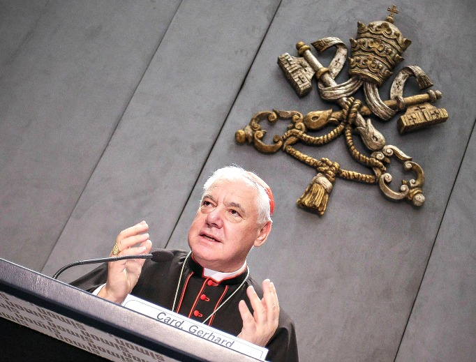 Cardinal Ludwig Muller is the prefect of the Congregation of the Doctrine of the Faith.
