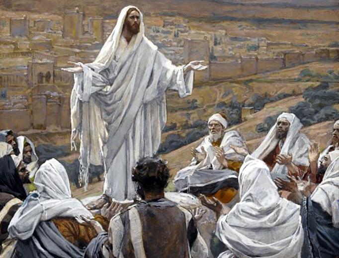 "James Tissot (1836-1902), ""The Lord's Prayer"""