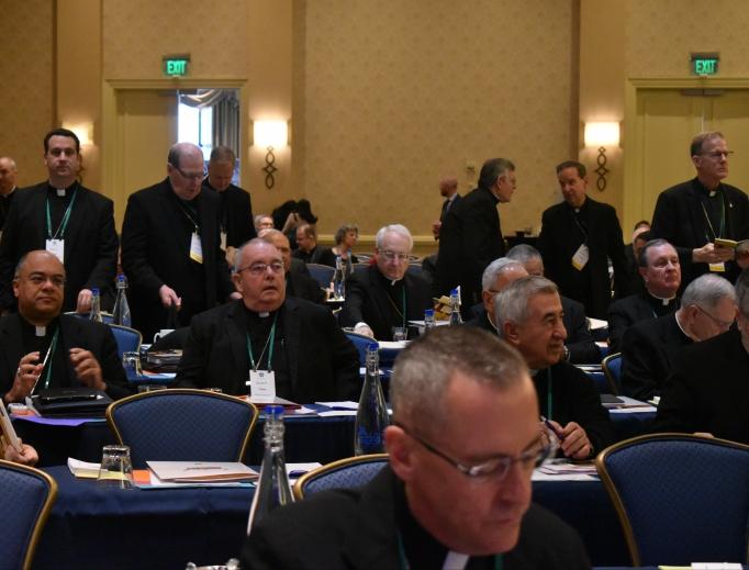 U.S. bishops meet in Baltimore earlier this month.
