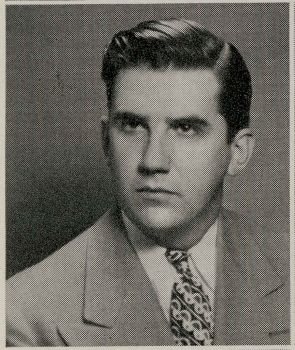 Ed McMahon as a CUA senior.