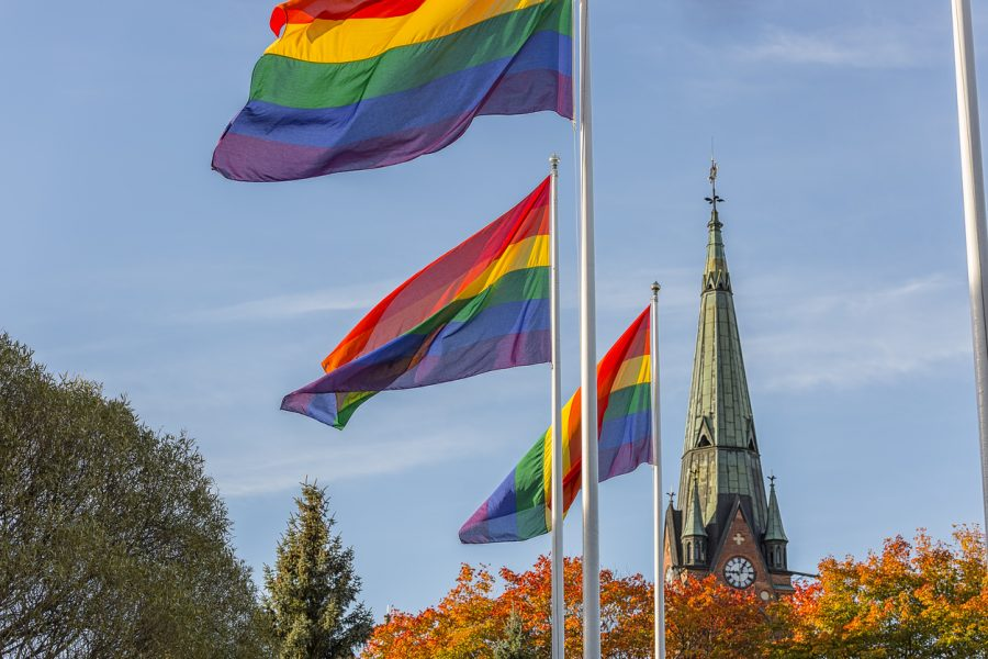 """Click on the Understanding the Subtext of LGBTQ """"Welcome"""" link to read more."""