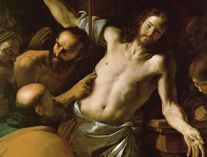 """Mattia Preti (1613-1699), """"Saint Thomas"""""""
