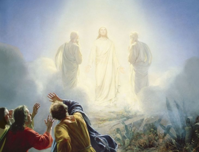 "Carl Bloch (1834-1890), ""The Transfiguration"""