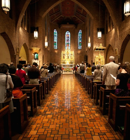 St. Catherine of Siena Church in New York, where liturgical celebrations for the Sacra Liturgia USA 2015 conference will take place.