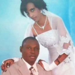 Meriam Ibrahim is pictured in this undated image with her husband, Daniel Wani.