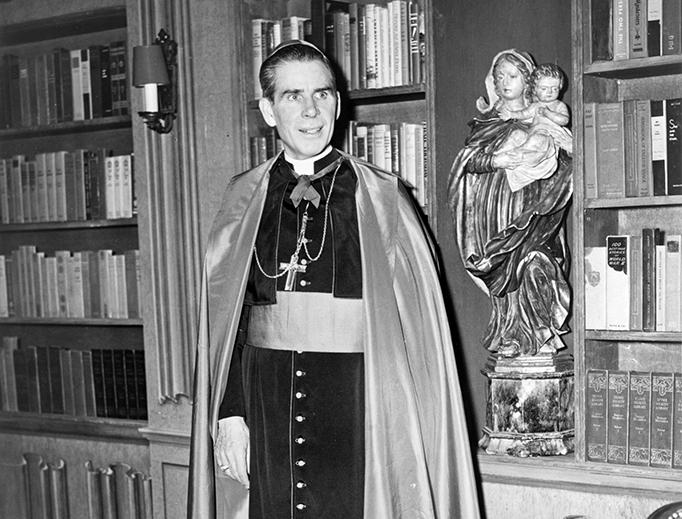 Archbishop Fulton J. Sheen in 1952