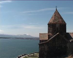 Sevan Monastery, as seen in the documentary airing on EWTN