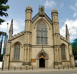 St. Andrew's Cathedral in Glasgow, Scotland.