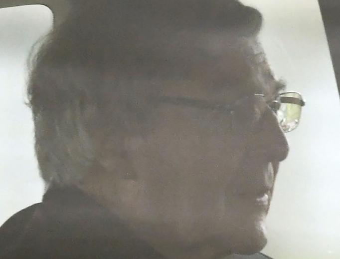 Australian Cardinal George Pell leaves prison by car April 7.