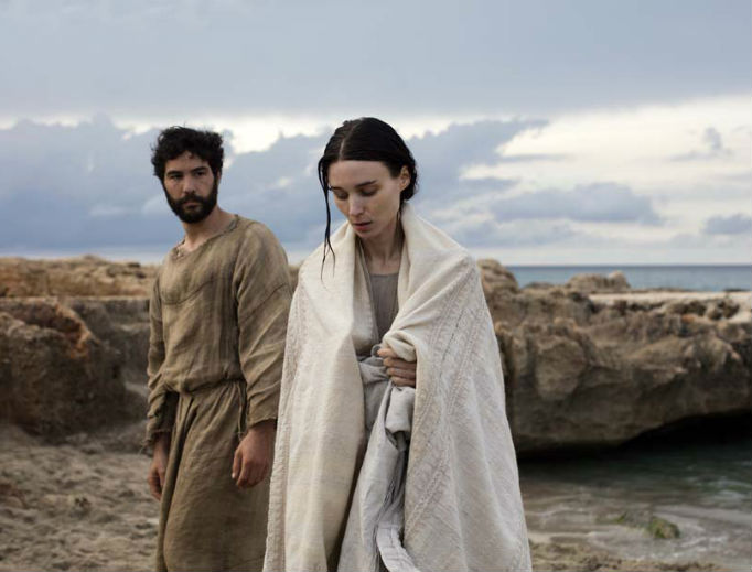 Rooney Mara as Mary Magdalene and Tahar Rahim as Judas Iscariot (IFC)