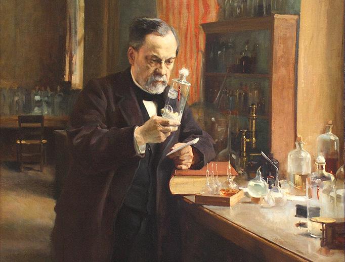 """Albert Edelfelt, """"Portrait of Louis Pasteur"""", 1885"""