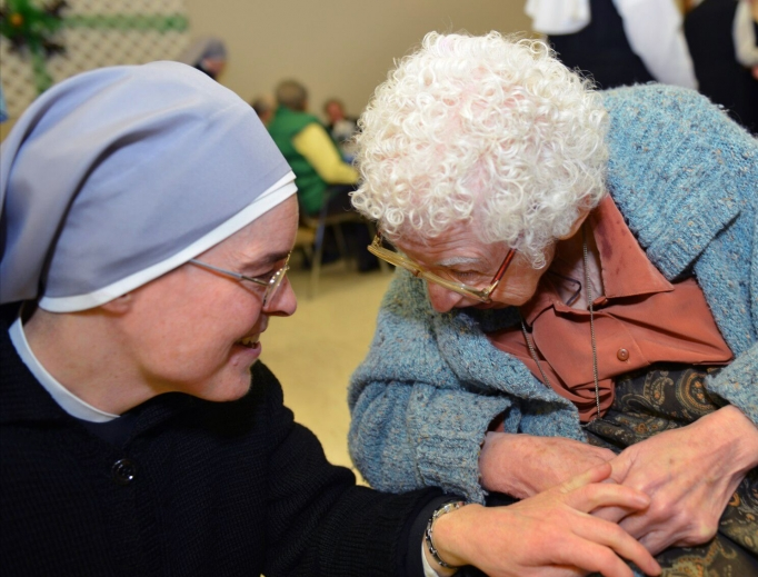 Little Sisters of the Poor tend to the elderly and sick.