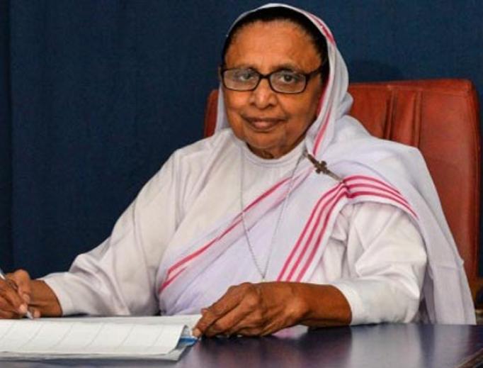 Sister Ruth Lewis.
