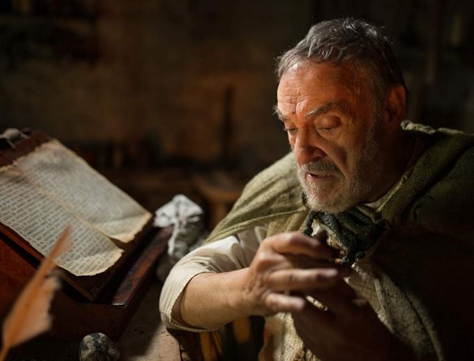 John Rhys-Davies portrays St. Patrick in I Am Patrick.