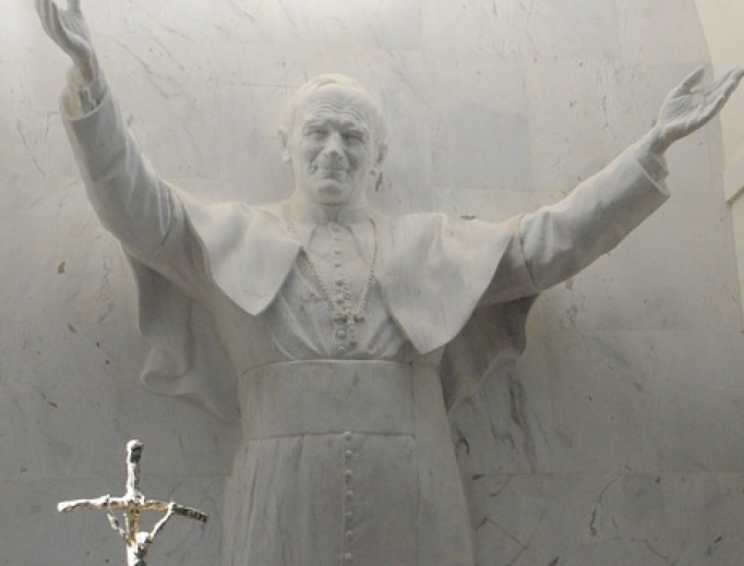 St. John Paul II encouraged vocations and the universal call to holiness.