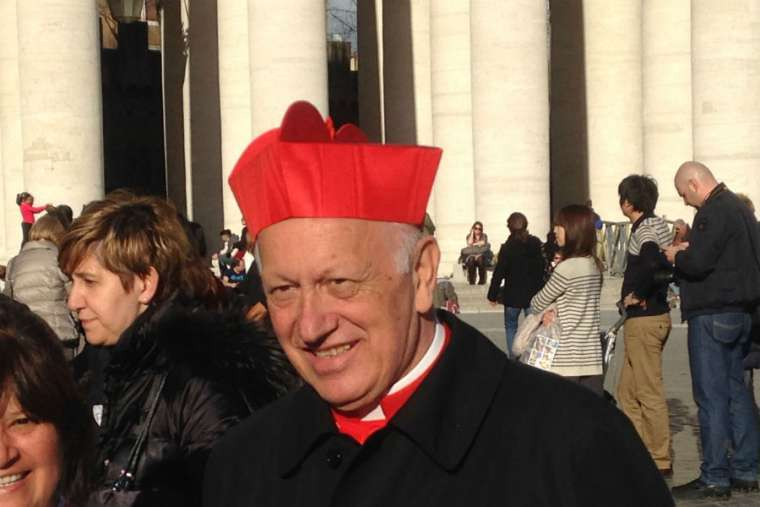Cardinal Ricardo Ezzati, former archbishop of Santiago de Chile