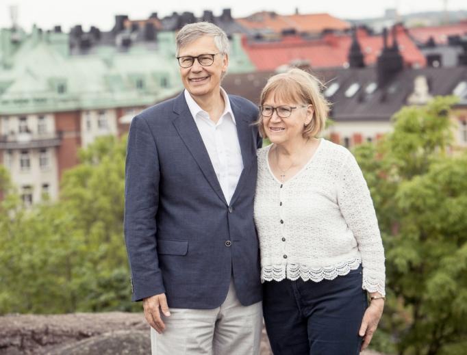 Ulf and Birgitta Ekman