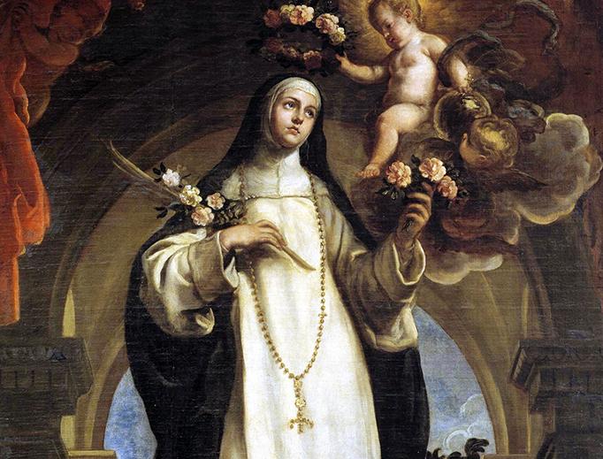 Claudio Coello, 'Santa Rosa de Lima', 1683
