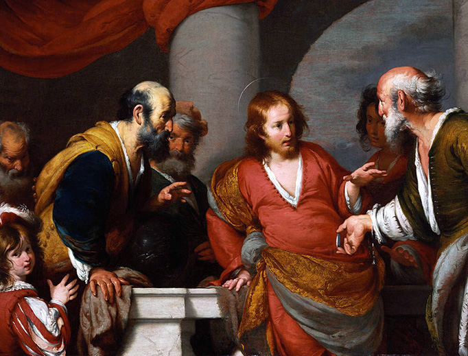 "Bernardo Strozzi (1581-1644), ""The Tribute Money"""