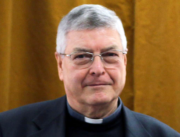 Jesuit Father Gianfranco Ghirlanda in 2014.