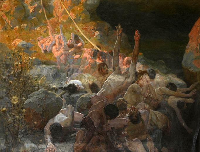 "Ferran Cabrera i Cantó, ""The Abyss,"" 1906"
