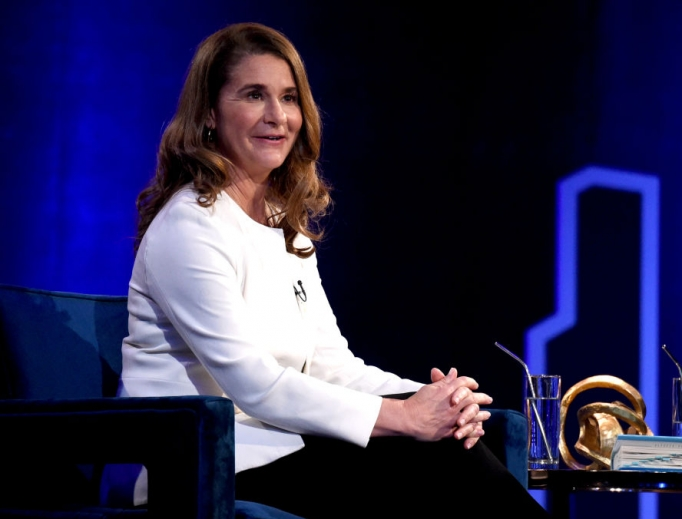 Melinda Gates, shown speaking during Oprah Winfrey's 'SuperSoul Conversations' at PlayStation Theater Feb. 5 in New York City, is an advocate of contraception.